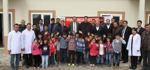 Prefabrik anaokullarının ilki açıldı