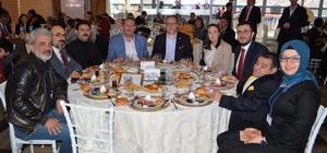 AK Parti programında engelli bireyler kahvaltıda buluştu