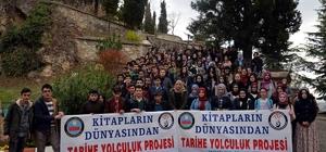 Trabzonlu öğrencilerin ''Kitapların Dünyasından Tarihe Yolculuk'' projesi ziyareti