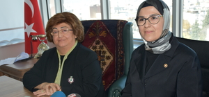TBMM Kadın Erkek Fırsat Eşitliği Komisyonu üyeleri Adıyaman'da