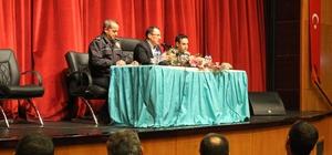 Kahta'da güvenlik toplantısı yapıldı