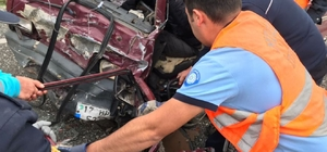 Marmaris - Datça Karayolunda Kaza: 6 Yaralı