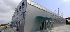 Darıca Bağlarbaşı Ortaokulu'na spor salonu