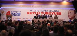 AK Parti Pursaklar 4. Olağan İlçe Kongre'si yapıldı