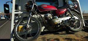 2016 yılında çalınan motosiklet ele geçirildi
