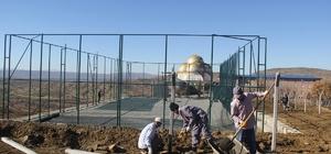 Kulp Belediyesi yatılı Kur'an Kursu'na spor sahaları yapacak