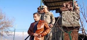 Kaymakam Alibeyoğlu Jandarma Karakolunu ziyaret etti