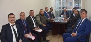 Başkan Albayrak Kapaklı'da ulaşım konulu toplantıya katıldı