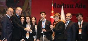 """Cumhurbaşkanı Erdoğan'dan Bağcılar Belediyesi'ne """"Engelleri Aşanlar"""" ödülü"""