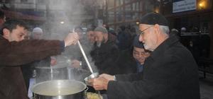 Taşköprü Belediyesi'nden sabah çorba ikramı
