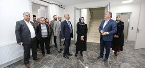 aşkan Gürlesin, AK Partili Meclis üyeleriyle projeleri inceledi