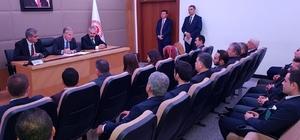 AK Parti Merkez ilçe teşkilatı Grup toplantısına katıldı