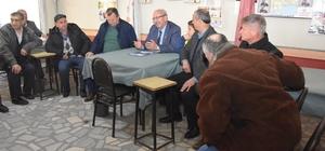 Başkan Albayrak Çayla'da vatandaşlarla bir araya geldi