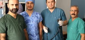 Kahta'da ağrısız endoskopi yapılıyor