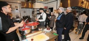 Zabıta ekiplerinden gıda işletmelerine hijyen denetimi