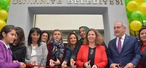Osmaniye'de, Sanat ve Mesleki Eğitim Merkezi yeni binasına kavuştu