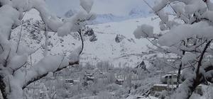 Hakkari'de 22 köy ile 17 mezra yolu ulaşıma kapandı