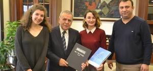 Küçükmenderes Gazetesi'nden Kocaoğlu'na ziyaret