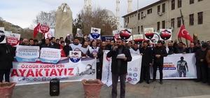 Iğdır'da Kudüs protestosu