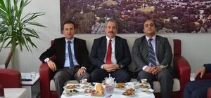 Kaymakam Akgül'den Başkan Gürsoy'a ziyaret