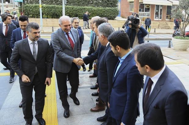 İBB Başkanı Mevlüt Uysal'dan Sultanbeyli Belediyesi'ne ziyaret
