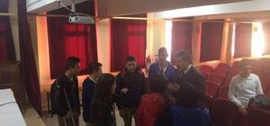 Öğrenciler Başkan Cankul'la buluştu