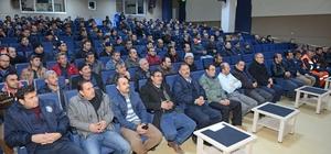 Narkotim'den belediye temizlik personeline seminer