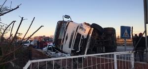 Osmaniye'de zincirleme trafik kazası: 3 yaralı