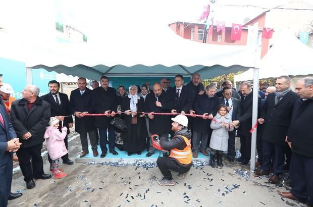 Ümraniye'de  Hacı Nurten Camii ve Sosyal Tesisinin temeli törenle atıldı