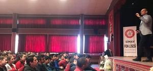 Simav'da öğrencilere Motivasyon ve  Stres Yönetimi Eğitimi