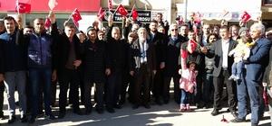 Isparta'da ABD'nin Kudüs kararına tepki