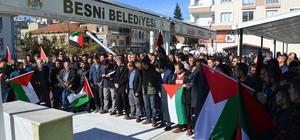 Besni ilçesinde Kudüs eylemi