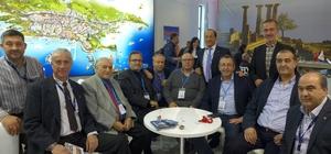Kuşadası Ticaret Odası heyeti, Travel Turkey Fuarı'na katıldı