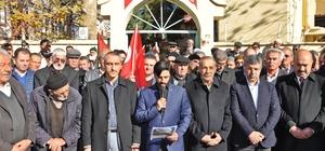 Gölbaşı ilçesinde Kudüs eylemi yapıldı