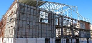 Akçakoca'da Spor Salonunda sona geliniyor
