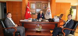 Başkan Yemenici'den Başkan Aydıner'e ziyaret