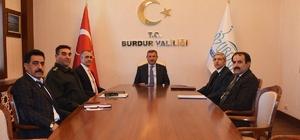 Burdur'da Kaçakçılıkla Mücadele Koordinasyon Toplantısı