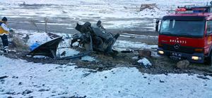 Malatya'da otomobil devrildi: 1 ölü