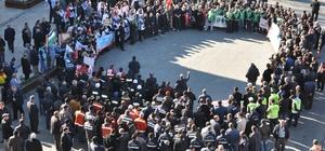 Simav'da ABD'nin Kudüs kararı protestosu edildi