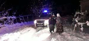 Van'da 7 saatlik hasta kurtarma operasyonu