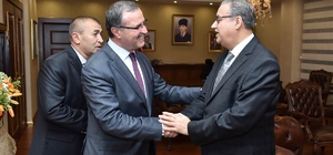 OSBÜK Başkanı Kütükcü, Vali Su'yu ziyaret etti