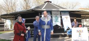 Geleneksel Türk Okçuluğu Sanat Atölyesi Projesi Sergisi açıldı