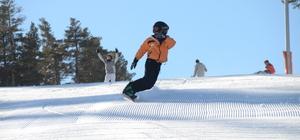 Cıbıltepe Kayak Merkezinde sezon açıldı