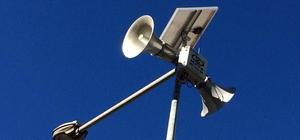 Anons sistemi güneş enerjisiyle çalışacak