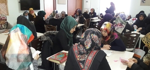 Elazığ'da kadınlar, Trump'ın kararını kınadı, Kudüs için dua etti