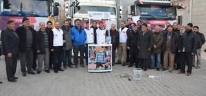 Eskişehir'den Suriye'ye 3 tır yardım