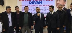 AK Parti Büyükorhan'da başkanlığa Tüfekçi seçildi