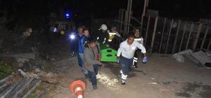 Beton mikserinin parçasının altında kalan işçi öldü