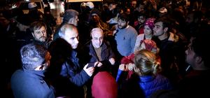 """Bursa'da """"üst geçit"""" eylemi"""