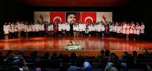 SANKO Üniversitesi Tıp Fakültesi beyaz önlük töreni